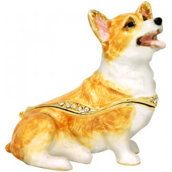 Corgi Trinket Box