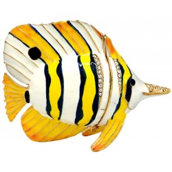 Butterfly Fish Trinket Box