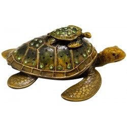 Turtle Family Trinket Box