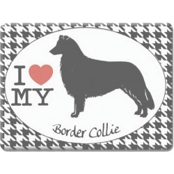 Border Collie -Fridge Magnet
