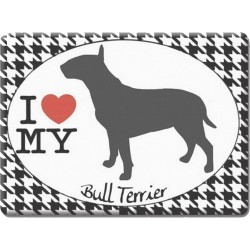 Bull Terrier -Fridge Magnet