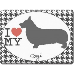 Corgi -Fridge Magnet