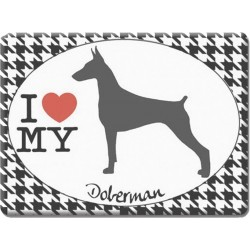 Doberman -Fridge Magnet