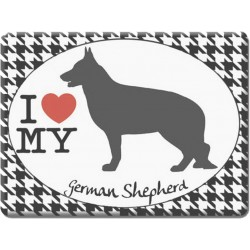 German Shepherd -Fridge Magnet