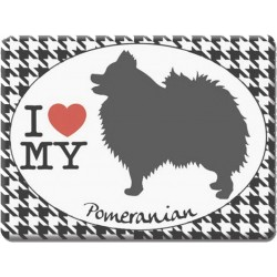 Pomeranian -Fridge Magnet