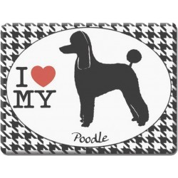 Poodle -Fridge Magnet