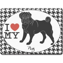 Pug -Fridge Magnet