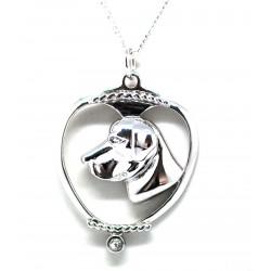 Labrador Pendant-Silver