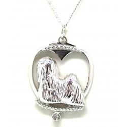 Shih Tsu Pendant-Silver