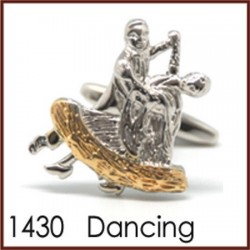 Dancing Novelty Cufflinks