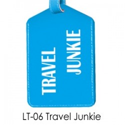 Luggage-Tag  Travel Junkie...