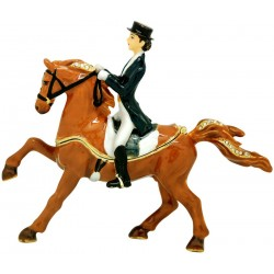 Dressage Horse Trinket Box